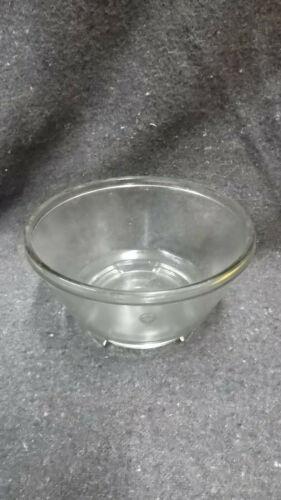 Glasschale für Küchenmaschine aus Pressglas
