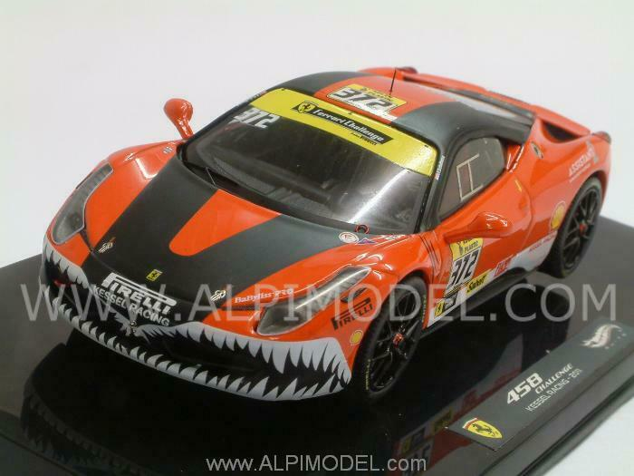 Ferrari 458 Italia Challenge Kessel Racing 2011 1 43 HOT WHEELS X5506