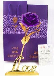 Sur De Soi Rose Éternelle Violet Support Love Pétale Fleur Séchée Décoration Cadeau Mariage Nourrir Les Reins Soulager Le Rhumatisme