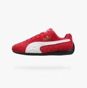 PUMA Speed Cat Suede Lace Up - Red / Athletic Racing Shoes Sneakers / 41730201