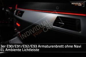 EL-Ambiente-Lichtleiste-Ambientebeleuchtung-fuer-3er-E90-E91-E92-E93-ohne-Navi