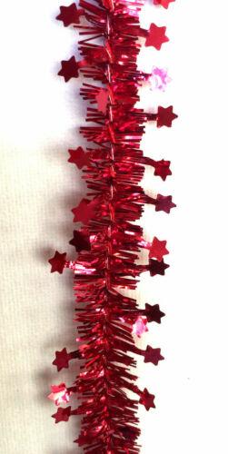 Étoile de Noël Mini Guirlandes Arbre Décoration Chaîne Guirlande de Noël parti Arts Craft