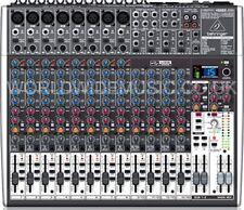 BEHRINGER XENYX X2222 USB 22 Input 2/2 Mixer + 24-Bit Multi-FX Processor + USB