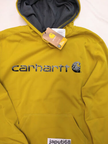 Carhartt Force Extreme Signature Graphic Sweatshirt MEDIUM Tree Frog BX70-2314