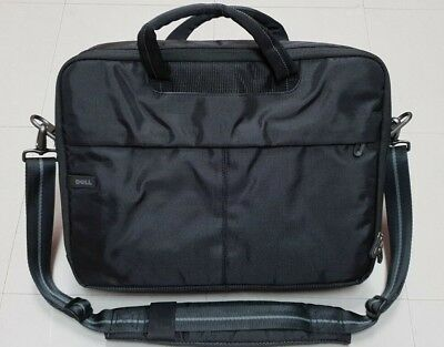 """4 Available NEW Genuine Dell Classic Black Nylon Notebook 15.6/"""" Carrying Case"""