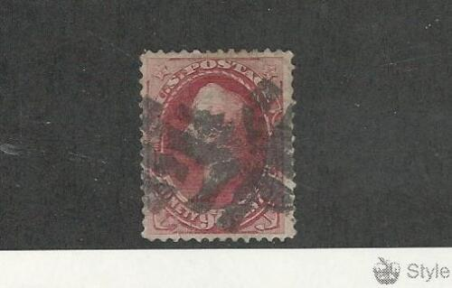 United States, Postage Stamp, #166 Tiny Thin Used, 1873