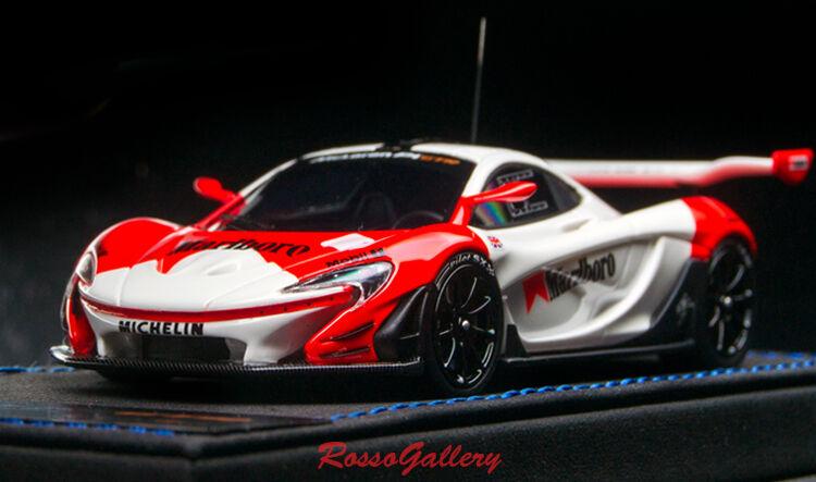 New 1 43 Peako Mclaren P1 GTR White Red 32208