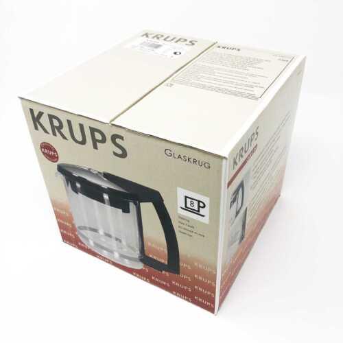 Krups F046-421 Kanne Ersatzkanne Krug Glaskrug für T8 F 468 mit Deckel Filter