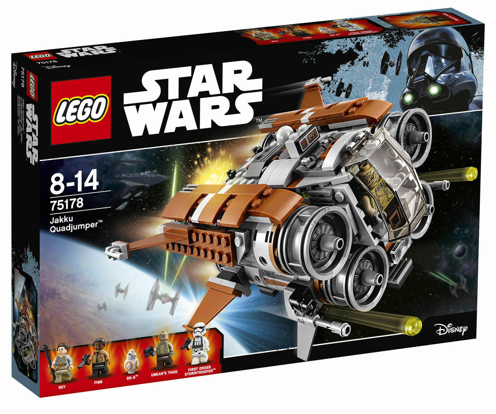 Lego Star Wars Jakku Quadjumper 75178 BRAND NEW. FREE POSTAGE.