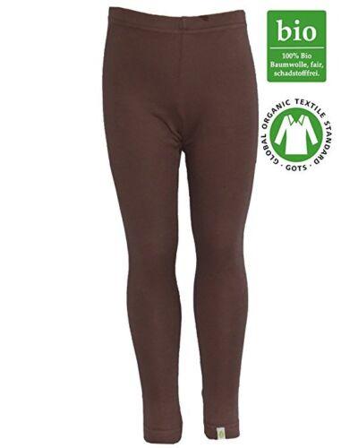 Leggings braun von iister egg Gr 74//80  Bio Baumwolle GOTS zertifiziert
