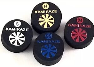 Kamikaze-Black-Layered-Cue-Tips-14-MM-Mix-amp-Match-5-Tips-Fast-Shipping