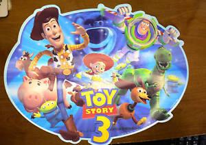 Toy Story 3placematwoodybuzzjessienwtdisney Store Ebay