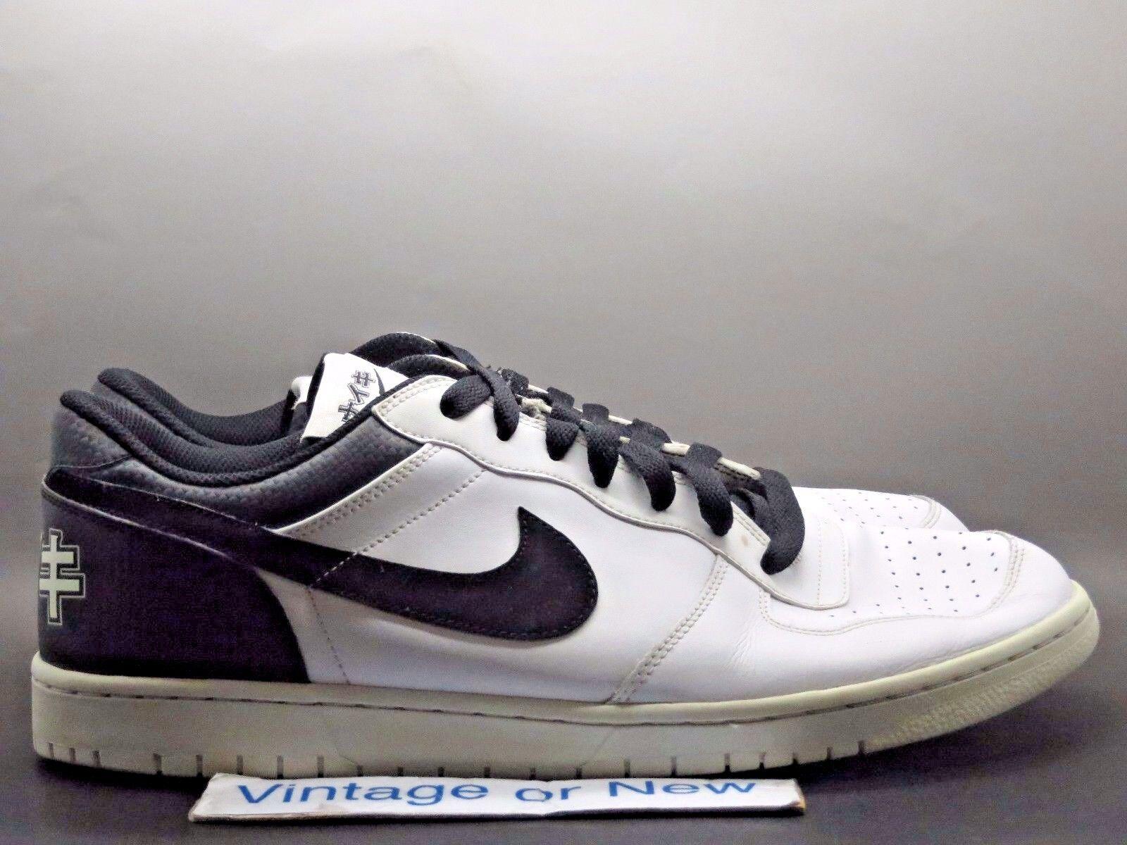 aded39ea67d0 Big Nike Low Katakana Pack White White White Black 2009 sz 15 b2f1a3 ...