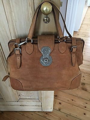 d9dcb1d851 ... switzerland ralph lauren womens western large frame bag in natural  veggie tan leather d2cbf 21551