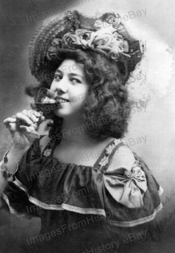 8x10 Print Miss Kate Rockwell Klondike Kate 1900 #MKR
