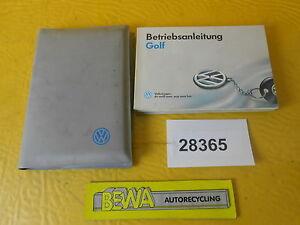 Bedienungsanleitung-VW-Golf-III-3-932-551-1H1-00-Bj-1993-Nr-28365