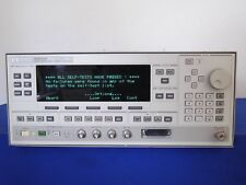 Agilent Hp 83620b 001 002 006 008 Synthesized Sweeper 10 Mhz To 20 Ghz