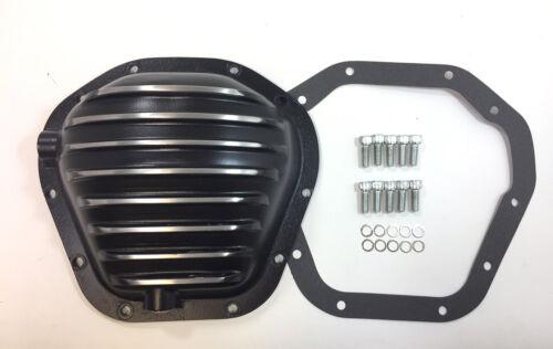 Dana 60-70 Rear Differential Cover Kit 10 Bolt Black Aluminum Chevy GM Truck