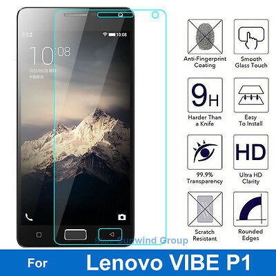 9H Tempered Glass Screen Protector for Lenovo VIBE P1 P 1 P1a42 P1c72 P1c58
