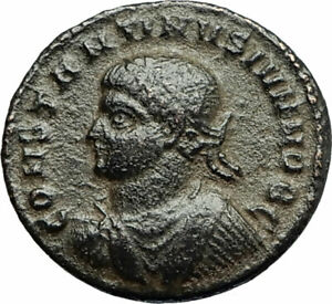 CONSTANTINE-II-Constantine-the-Great-son-324AD-Ancient-Roman-Coin-Wreath-i77078
