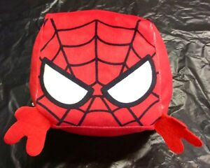 NEW Cubd Collectibles Soft Plush Stuffed Cube Marvel Spiderman