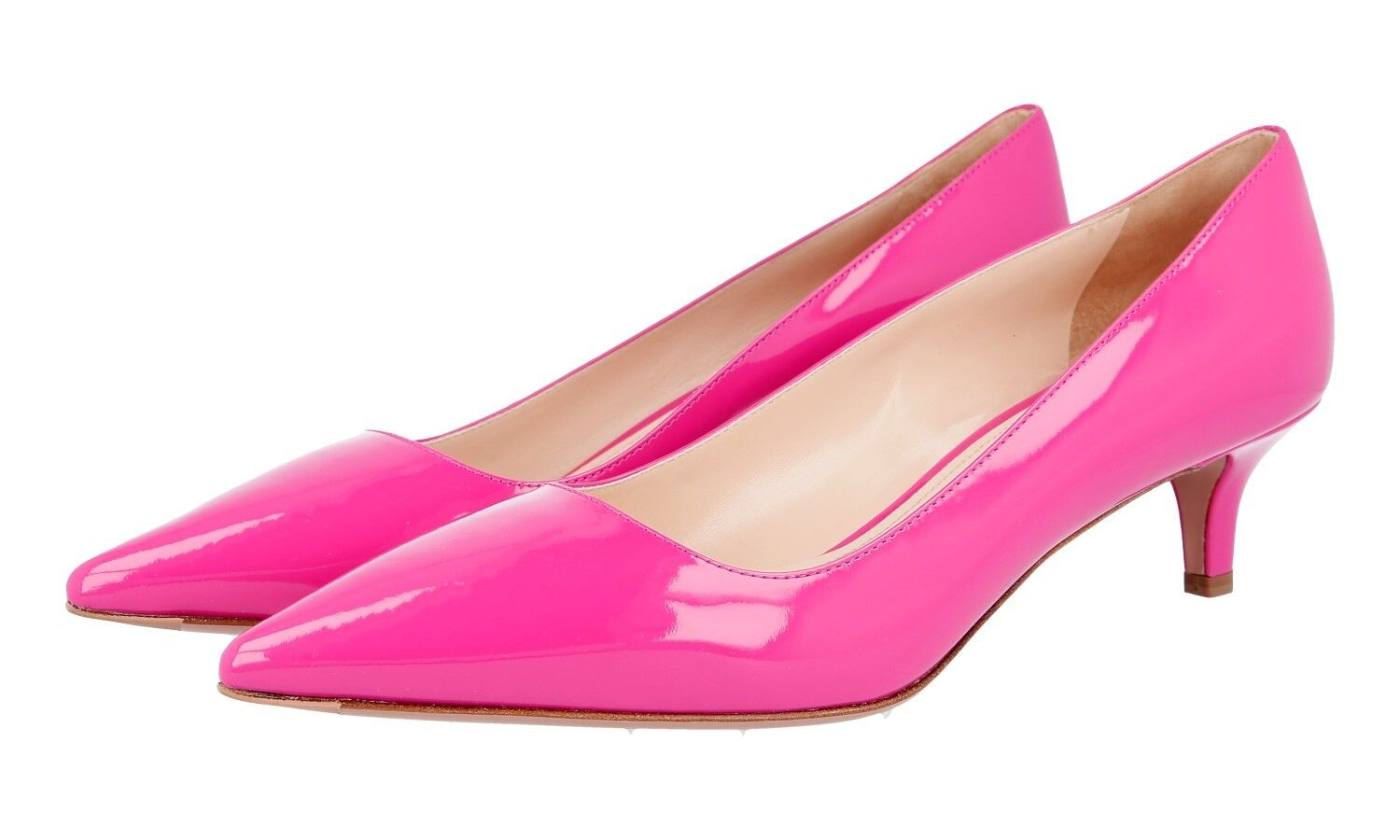 AUTHENTIC LUXURY PRADA PUMPS SHOES 1I619D PEONIA NEW 40 40,5