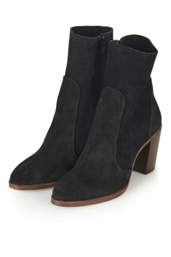 Sock Topshop 8 Suede Eu £79 £35 Ankle Black 41 Sale Boots Uk 'magnificent' New gXCqwq