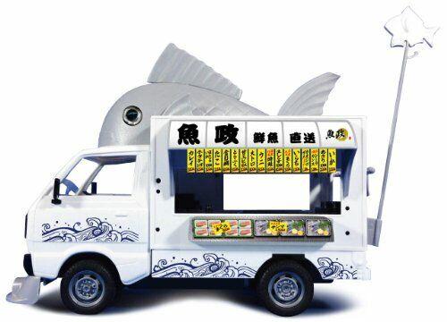 Qingdao 1   24 Mobile auto Shopping Shopping Shopping shop Plastic Model kits New Japan c66