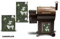 Traeger Smoker Grill Graphic Kit Decal Wrap Skin For Costco Century Model Camo