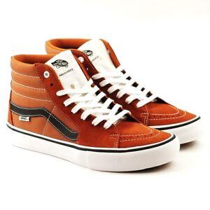 69c0ed58cc Vans SK8 HI PRO Glazed Ginger Black White Men s Shoes (7 D US ...