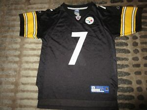 b02004efbe4 Image is loading Ben-Roethlisberger-7-Pittsburgh-Steelers-NFL-Reebok-Jersey-