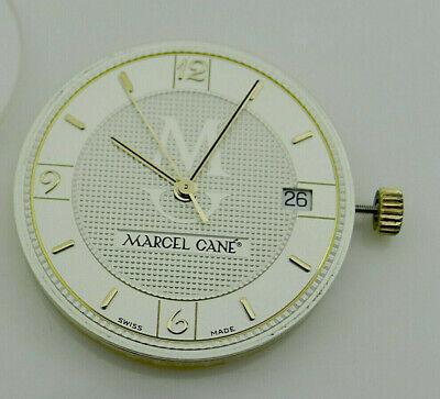 100% QualitäT Marcel Cane Date Swiss Cal. Eta 2892-2 Automatic Uhrwerk, Guillochiertes Blatt