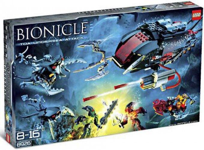 Lego Bionicle set  8926 ataque submarino