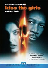 Brand New DVD Kiss The Girls Morgan Freeman Ashley Judd Gary Fleder 1998