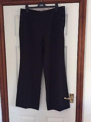 * * Next Taglia 14r Black & White Spot Pantaloni Su Misura Prezzo Consigliato £ 32- Le Merci Di Ogni Descrizione Sono Disponibili