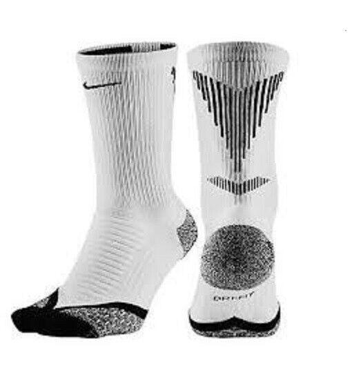 Nike Elite Running Support Over Calf Anti Friction Socks Mens L 8 - 12