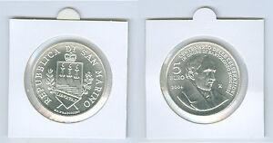 San Marino Commémorative Argent De KMS (Choisissez Entre 2003 - 2021)