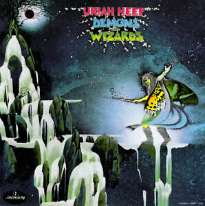 Details about URIAH HEEP / DEMONS & WIZARDS - feat EASY LIVIN' & THE WIZARD