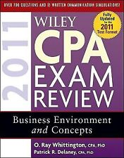 Wiley CPA Exam Review 2011, Business Environment and Concepts (Wiley C-ExLibrary