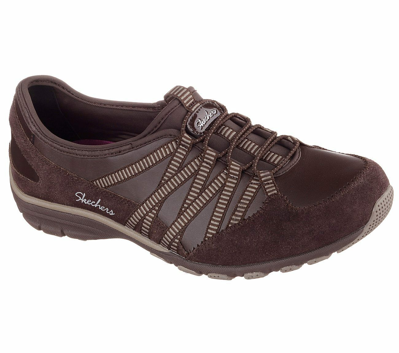 Womens Skechers Relaxed Fit: Conversations - Debate CHTP 22556 #BR