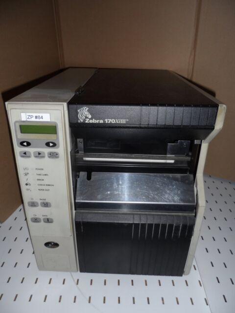 Zebra 170XiIII Thermodrucker Etikettendrucker