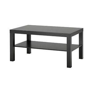 Ikea Lack Coffee Table Black Brown 1