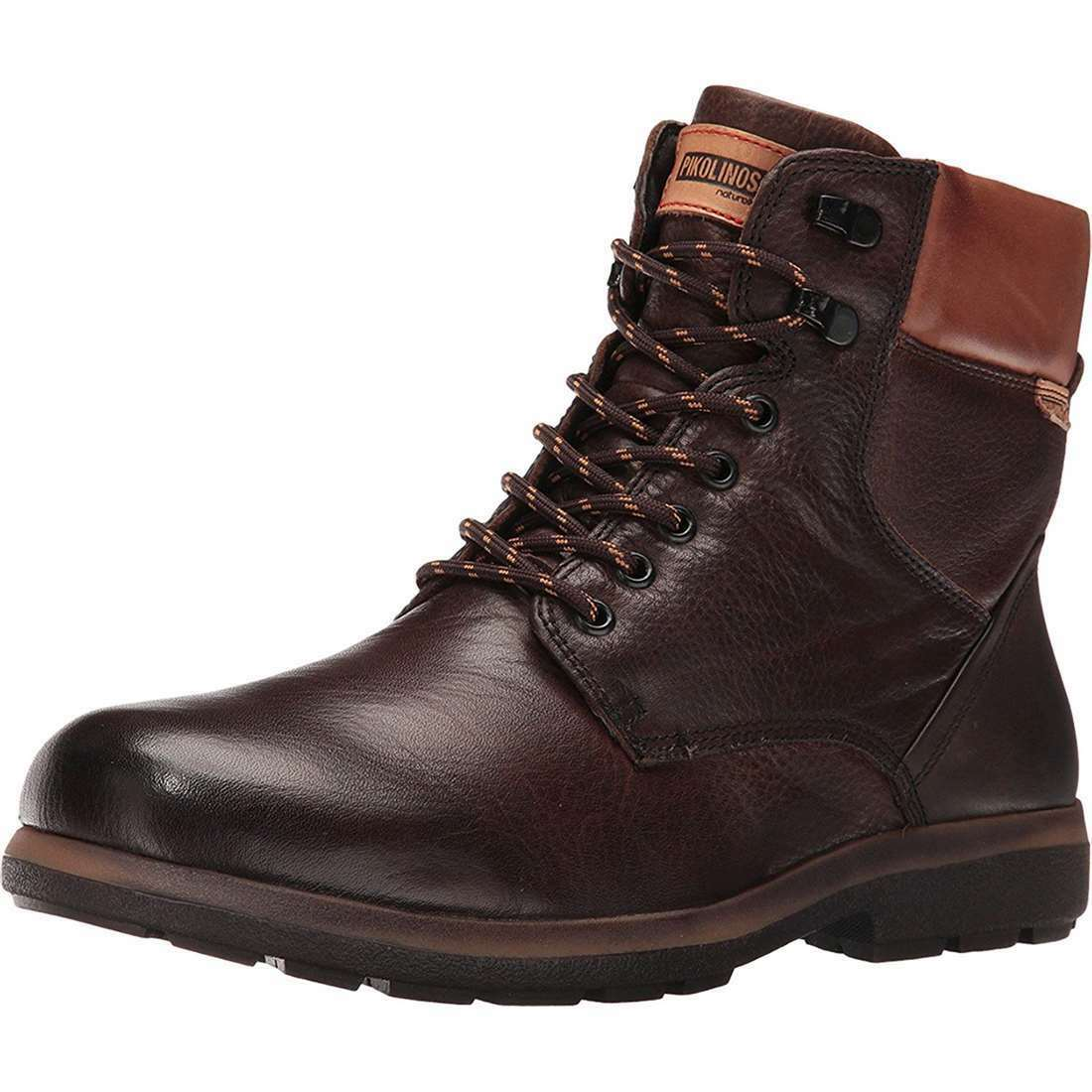 Pikolinos Badajoz Premium Leather Lace Up Men's Winter Ankle Boots NEW
