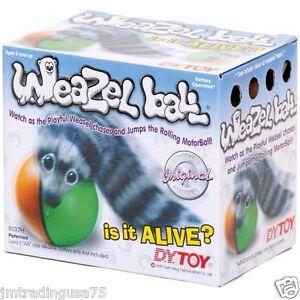 BEST QUALITY ORIGINAL WEAZEL WEASEL BALL FOR CAT DOG PET TOY
