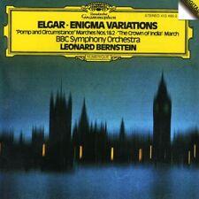 Leonard Bernstein - Elgar: Enigma Variations / Pompo & Circumstances [New CD]