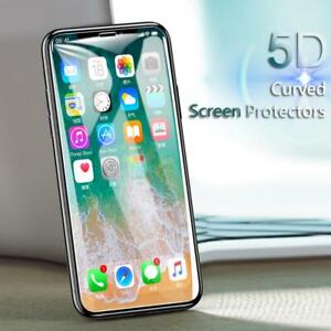 3x-For-iPhone-11-Pro-Max-2019-5D-Full-Cover-Tempered-Glass-Screen-Protector-lot