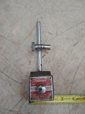 Vintage Starrett 657 Magnetic Base Indicator Stand