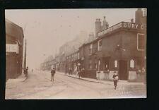 Lancs Lancashire BURY Walmersley Rd Coffee House c1900/10s? RP PPC E W B Smith