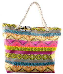 cbf82fa6e75a Image is loading OCTAVE-Ladies-Summer-Beach-Tote-Handbags-Collection -Various-