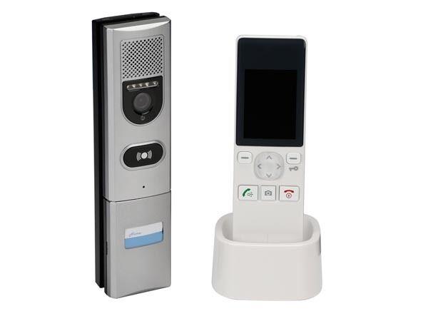 INTERPHONE VIDEOPHONE COULEUR SANS FIL AUDIO MICRO VISION NUIT ENREGISTREMENT